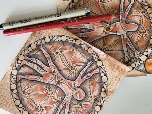 mindandtangle, zentangle, renacimiento, meditación